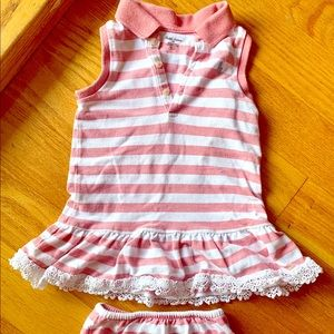Ralph Lauren Authentic Dress Shorts Set 18 month